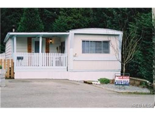 Main Photo: 45B 2587 Selwyn Rd in VICTORIA: La Mill Hill Manufactured Home for sale (Langford)  : MLS®# 330087