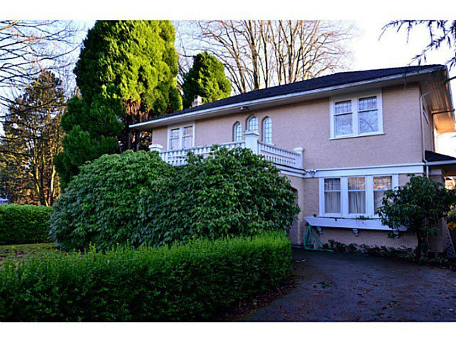 Main Photo: 1406 W 40TH AV in Vancouver: Shaughnessy House for sale (Vancouver West)  : MLS®# V1090183