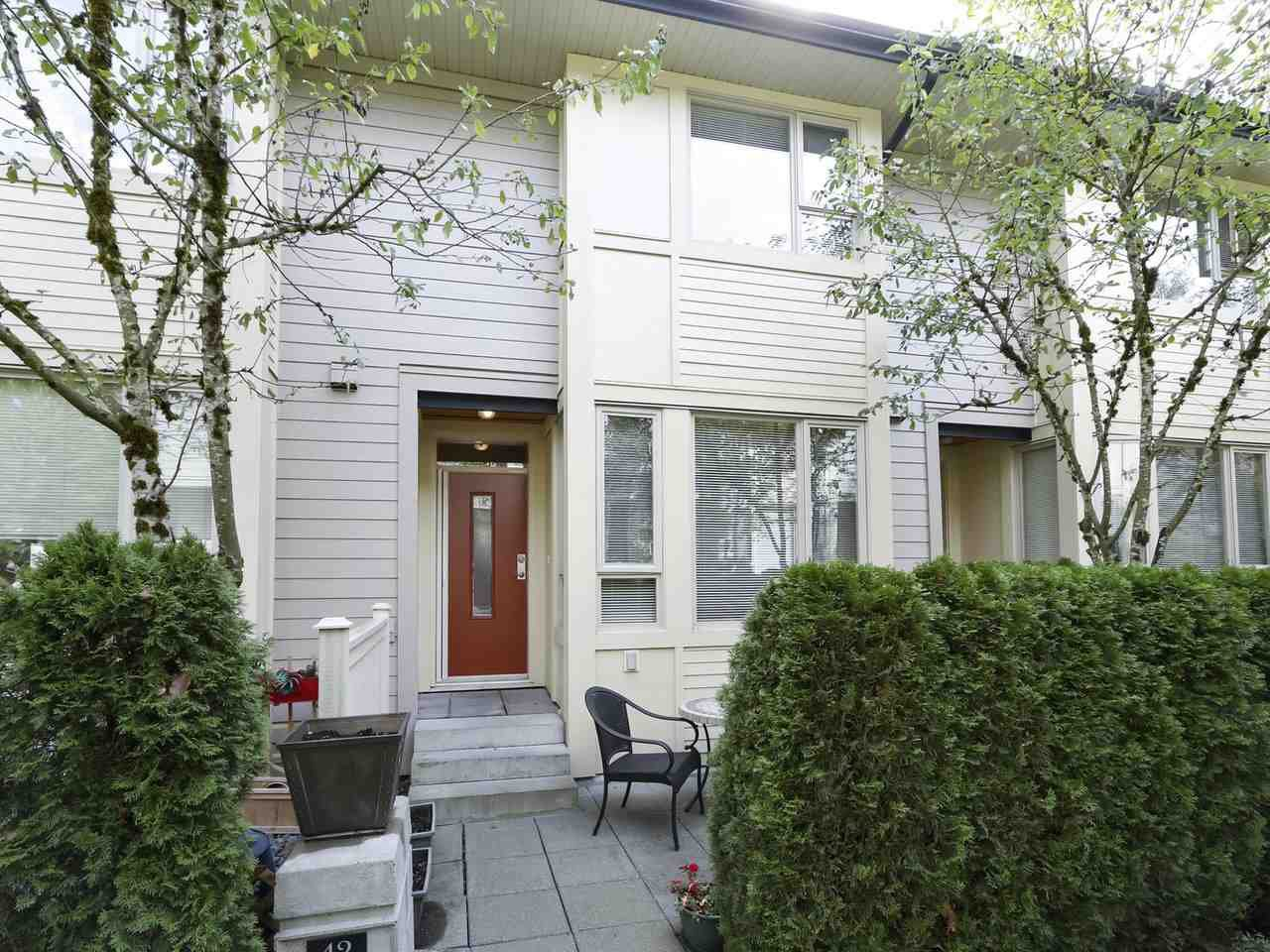 """Main Photo: 42 9229 UNIVERSITY Crescent in Burnaby: Simon Fraser Univer. Townhouse for sale in """"SERENITY"""" (Burnaby North)  : MLS®# R2403923"""