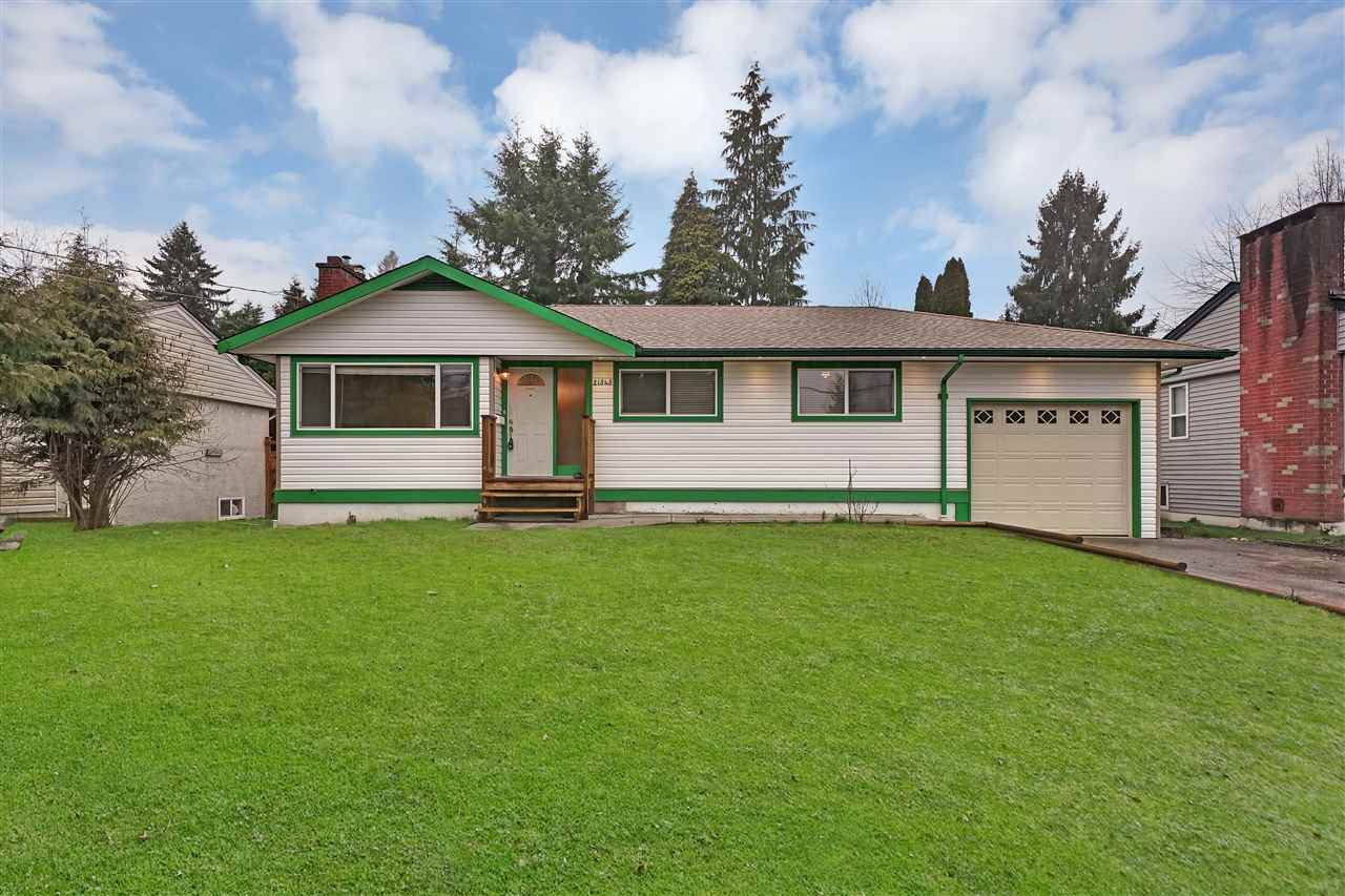 "Main Photo: 21545 STONEHOUSE Avenue in Maple Ridge: West Central House for sale in ""West Maple Ridge"" : MLS®# R2440978"