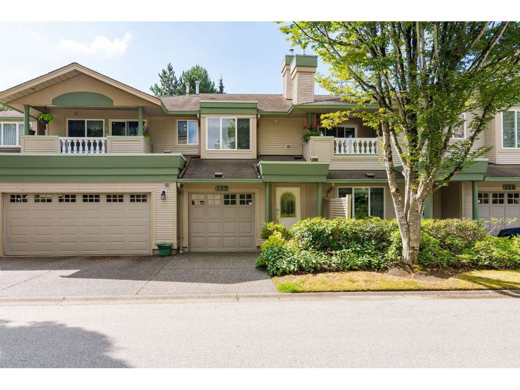 "Main Photo: 157 13888 70 Avenue in Surrey: East Newton Townhouse for sale in ""CHELSEA GARDENS"" : MLS®# R2490894"
