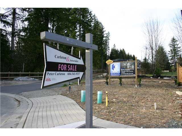 Main Photo: 3349 MASON Avenue in Coquitlam: Burke Mountain Land for sale : MLS®# V994341