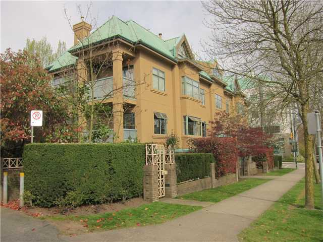 Main Photo: 102 2829 ASH Street in Vancouver: Fairview VW Condo for sale (Vancouver West)  : MLS®# V1076637