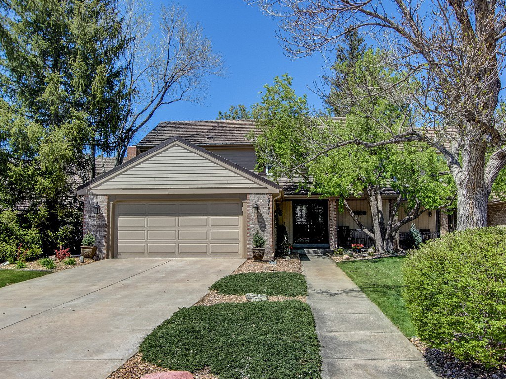 Main Photo: 6741 S. Kearney Court in Centennial: Townhouse for sale (Homestead in the Willows)  : MLS®# 7123804