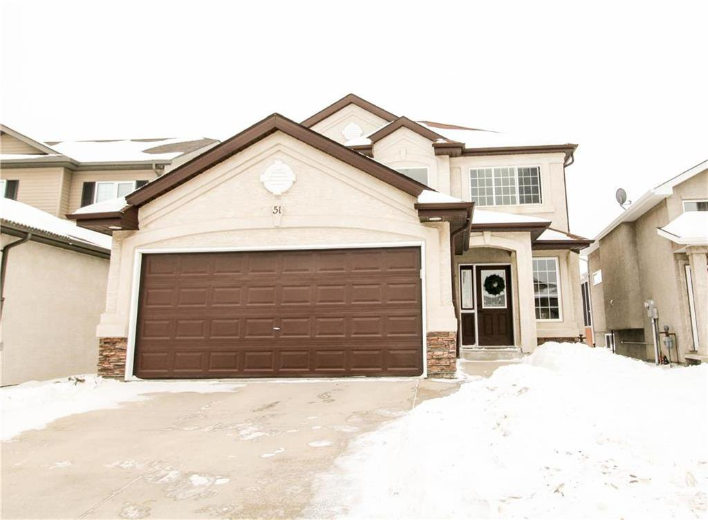Main Photo: 51 Al Thompson Drive in Winnipeg: Harbour View South Residential for sale (3J)  : MLS®# 202003069