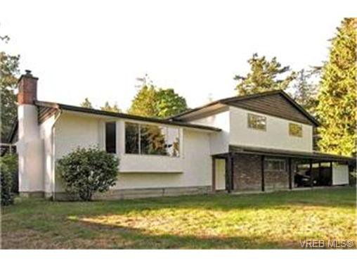 Main Photo:  in NORTH SAANICH: NS Lands End House for sale (North Saanich)  : MLS®# 418221