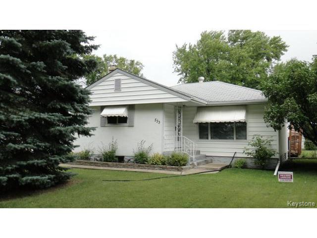 Main Photo: 533 Neil Avenue in WINNIPEG: East Kildonan Residential for sale (North East Winnipeg)  : MLS®# 1422417
