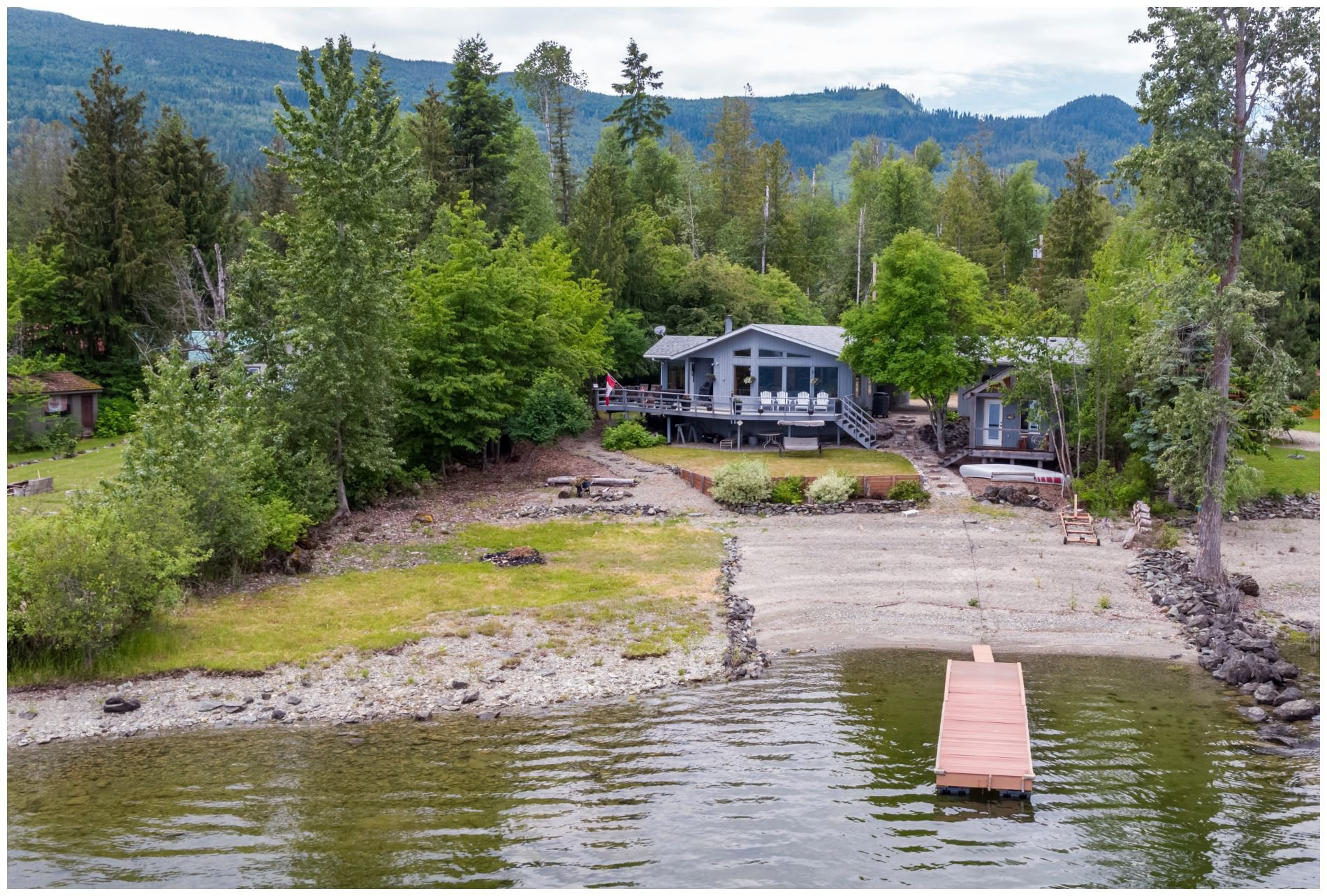 Main Photo: 4867 Parker Road: Eagle Bay House for sale (Shuswap Lake)  : MLS®# 10186336
