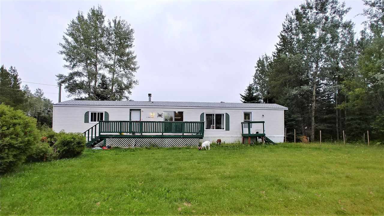 "Main Photo: 14462 HUBERT Road in Prince George: Hobby Ranches Manufactured Home for sale in ""HOBBY RANCHES"" (PG Rural North (Zone 76))  : MLS®# R2393127"