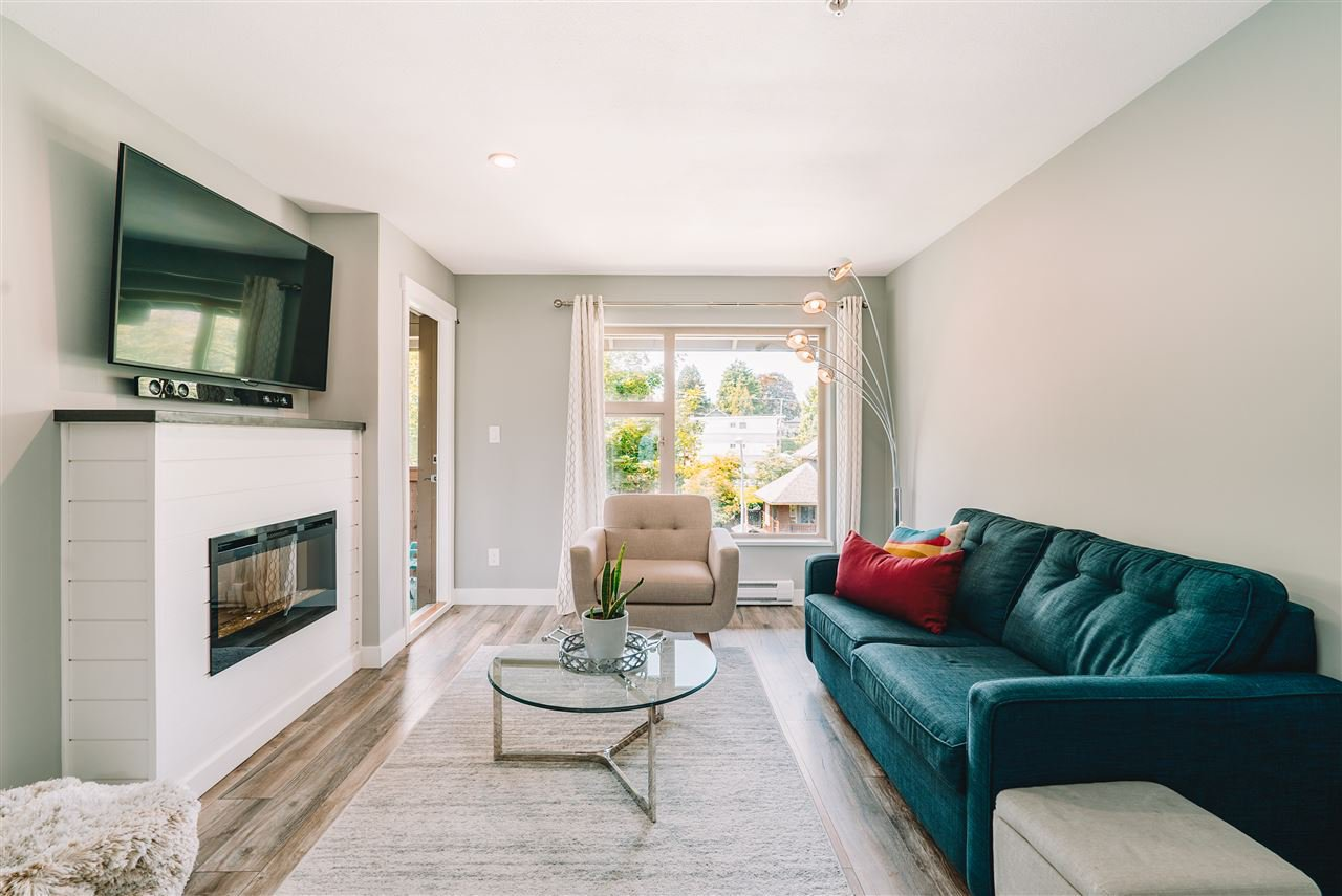 """Main Photo: 407 675 PARK Crescent in New Westminster: GlenBrooke North Condo for sale in """"Winchester"""" : MLS®# R2467939"""
