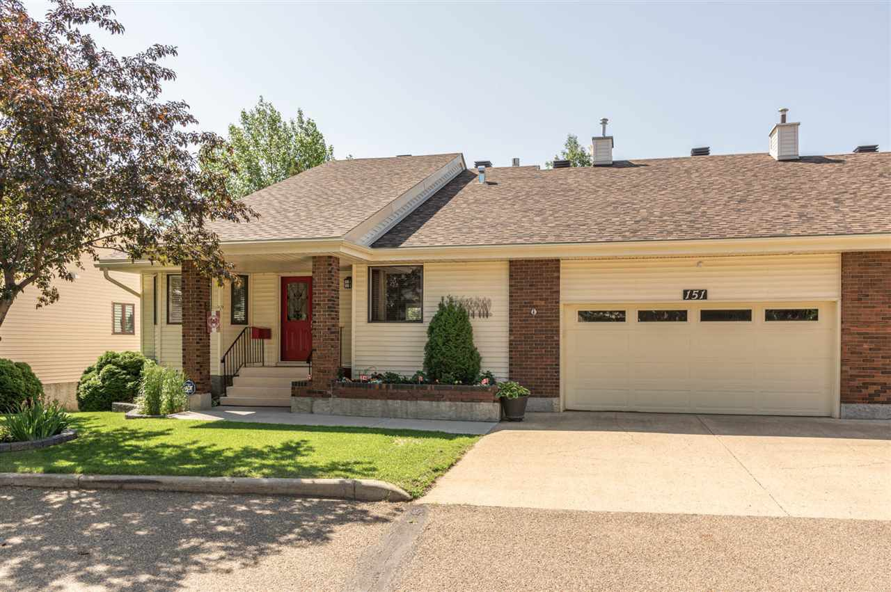 Main Photo: 151 OEMING Road in Edmonton: Zone 14 House Half Duplex for sale : MLS®# E4204961