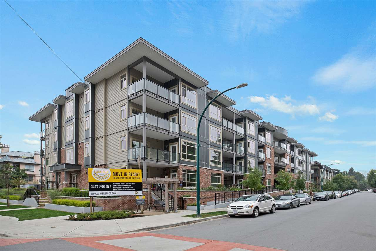 """Main Photo: 307 2436 KELLY Avenue in Port Coquitlam: Central Pt Coquitlam Condo for sale in """"LUMIERE"""" : MLS®# R2521638"""