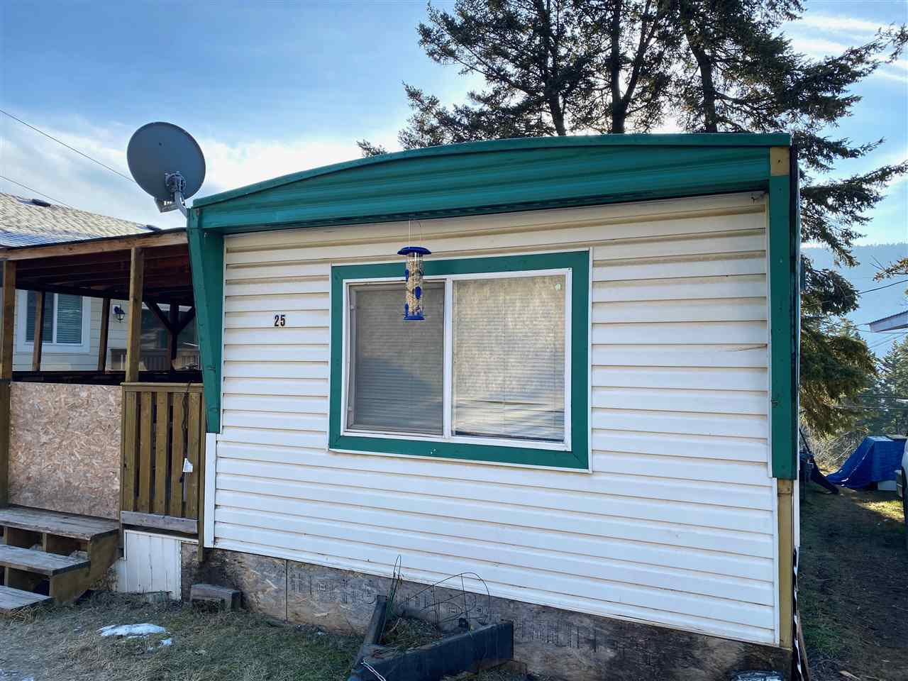 Main Photo: 25 560 SODA CREEK Road in Williams Lake: Williams Lake - Rural North Manufactured Home for sale (Williams Lake (Zone 27))  : MLS®# R2526857