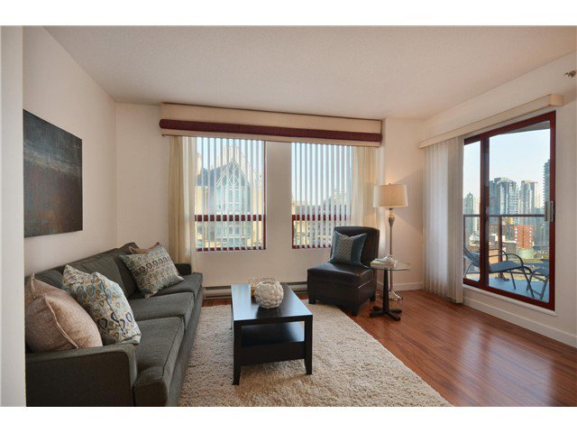 "Photo 2: Photos: 1302 811 HELMCKEN Street in Vancouver: Downtown VW Condo for sale in ""Imperial Tower"" (Vancouver West)  : MLS®# V972694"