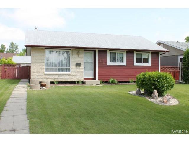 Main Photo: 143 Wynford Drive in WINNIPEG: Transcona Residential for sale (North East Winnipeg)  : MLS®# 1416210