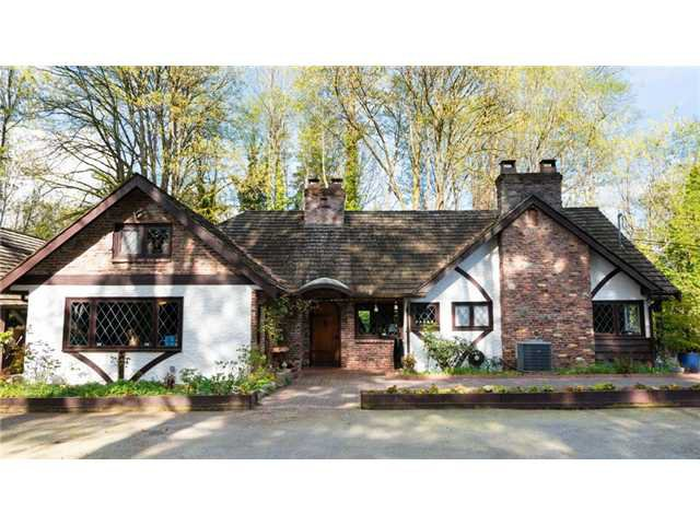 Main Photo: 865 Wildwood Ln in West Vancouver: British Properties House for sale : MLS®# V1080982