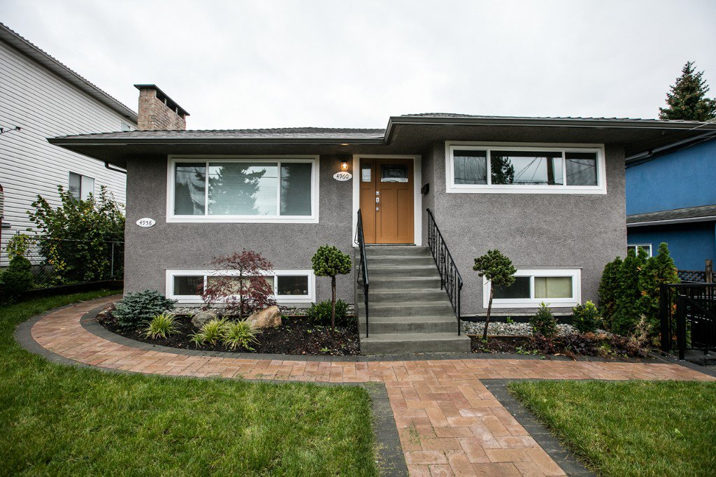 Main Photo: 4960 MANOR ST in VANCOUVER: Collingwood VE House for sale (Vancouver East)  : MLS®# R2134049