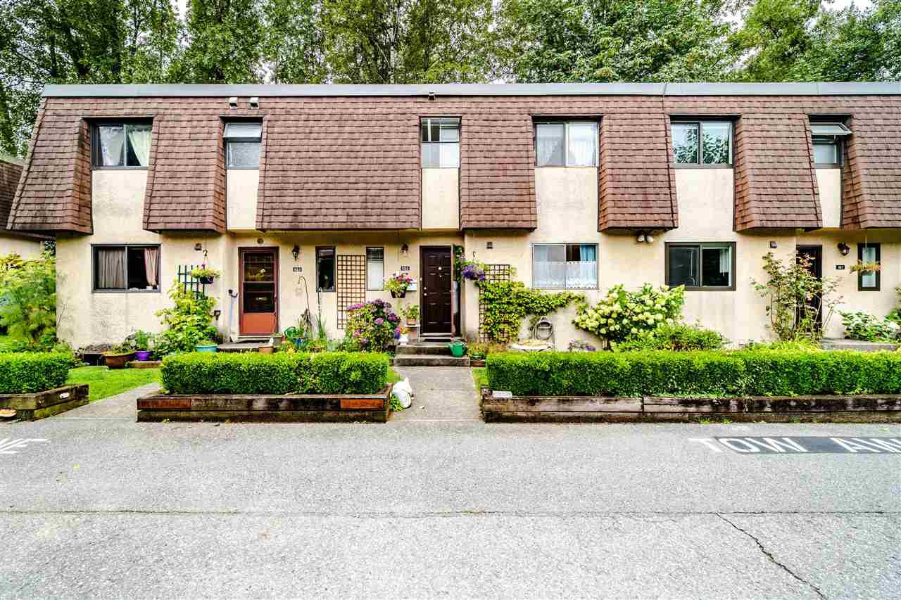 "Main Photo: 855 OLD LILLOOET Road in North Vancouver: Lynnmour Townhouse for sale in ""Lynnmour Village"" : MLS®# R2482428"
