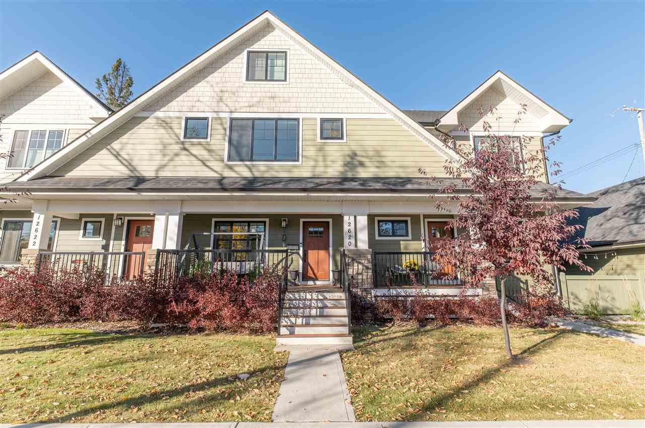 Main Photo: 12620 106 Avenue in Edmonton: Zone 07 Townhouse for sale : MLS®# E4216589