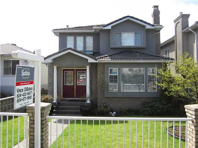Main Photo: 3148 E 7TH Avenue in Vancouver: Renfrew VE House for sale (Vancouver East)  : MLS®# V945399