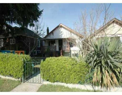 Main Photo: 935 E 13TH AV in : Mount Pleasant VE House for sale : MLS®# V525794