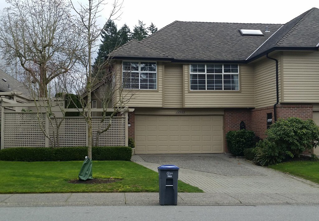 Main Photo: 12021 Boundary Dr, S in Surrey: Townhouse for sale