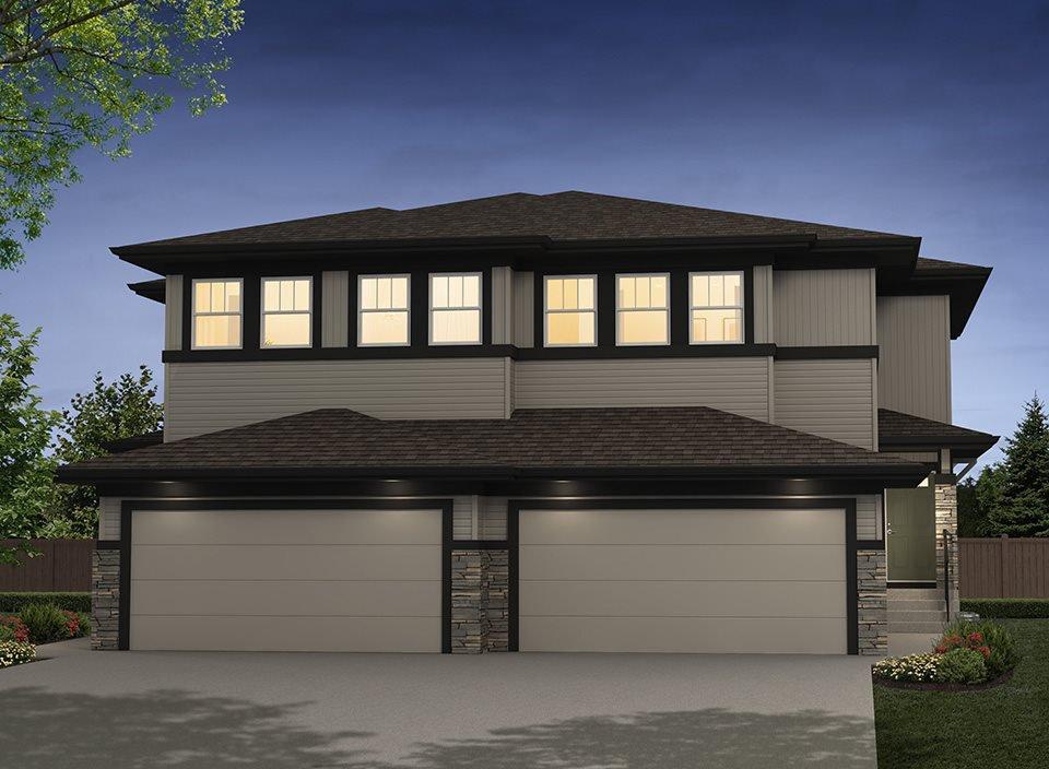 Main Photo: 609 40 ST SW in Edmonton: Zone 53 House Half Duplex for sale : MLS®# E4034903