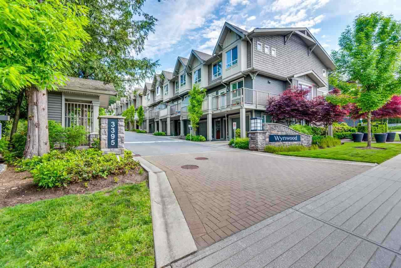 "Main Photo: 9 3395 GALLOWAY Avenue in Coquitlam: Burke Mountain Townhouse for sale in ""Wynwood"" : MLS®# R2389114"