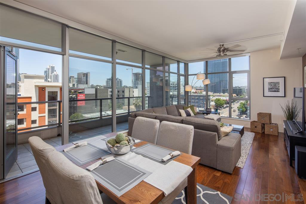 Main Photo: DOWNTOWN Condo for rent : 2 bedrooms : 575 6th #602 in San Diego