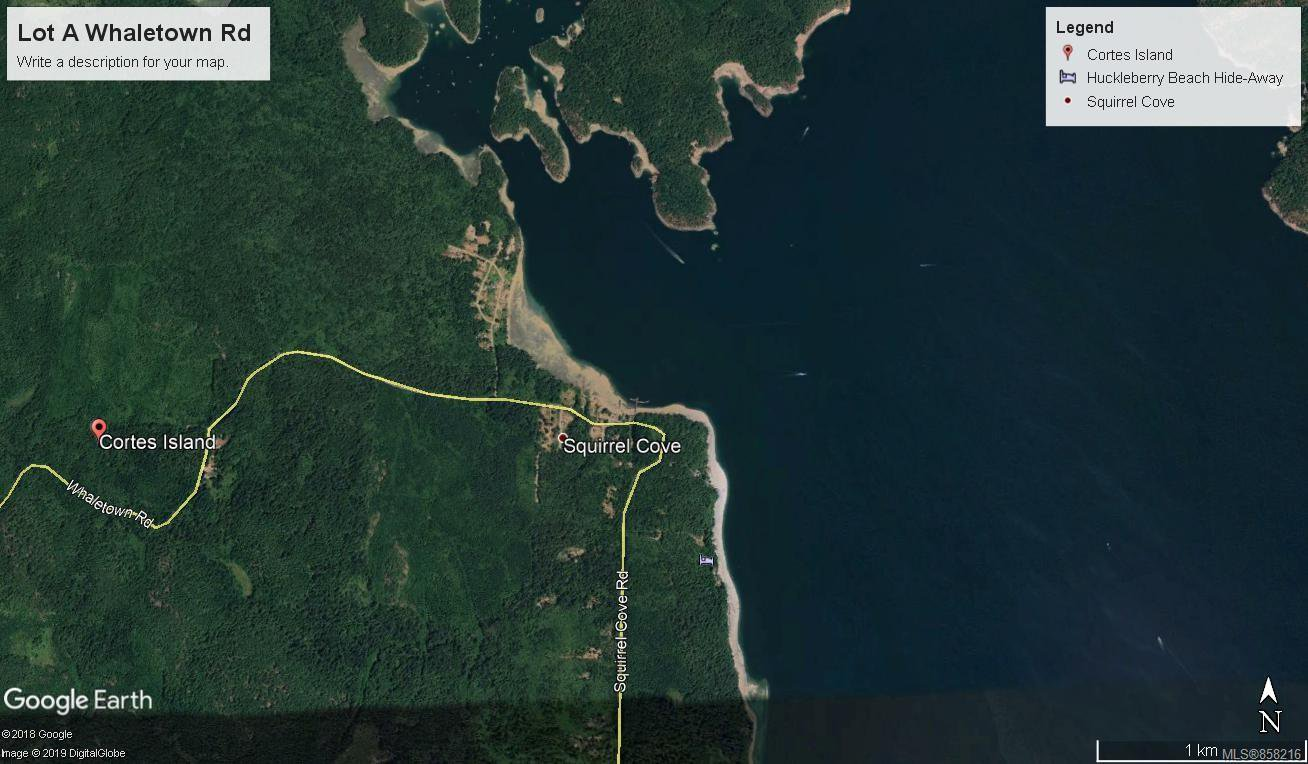 Main Photo: Lot A Whaletown Rd in : Isl Cortes Island Land for sale (Islands)  : MLS®# 858216