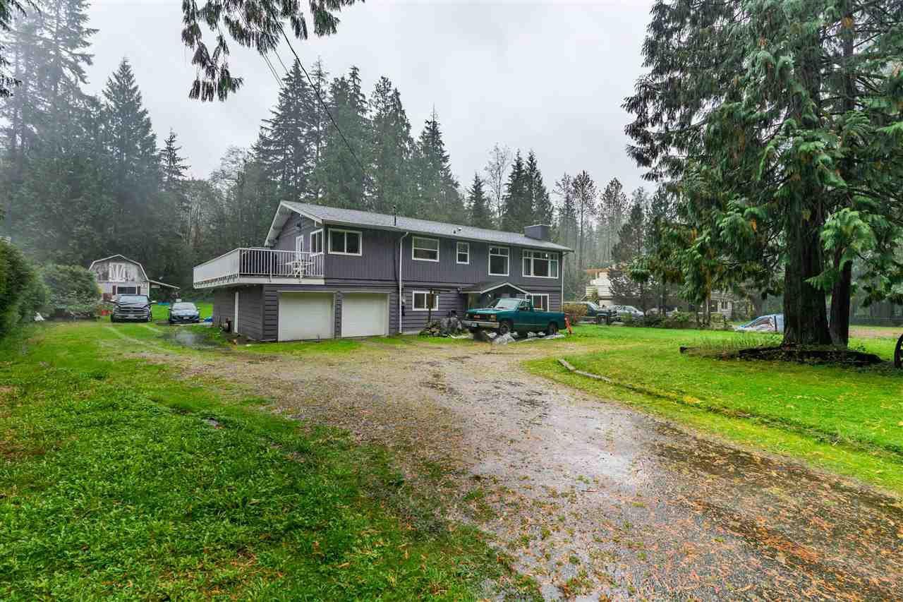 Main Photo: 11554 280 Street in Maple Ridge: Whonnock House for sale : MLS®# R2510924