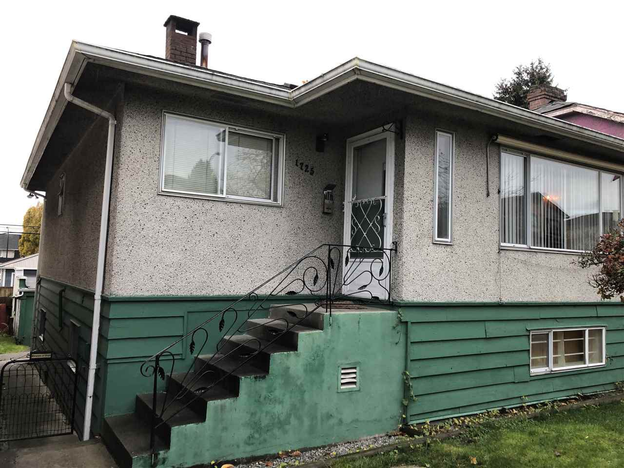 Main Photo: 1725 E 34TH Avenue in Vancouver: Victoria VE House for sale (Vancouver East)  : MLS®# R2519582