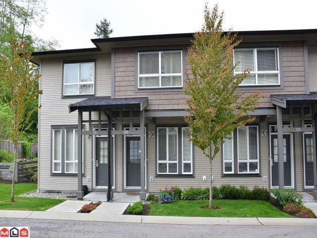 "Main Photo: 109 2729 158TH Street in Surrey: Grandview Surrey Townhouse for sale in ""Kaleden"" (South Surrey White Rock)  : MLS®# F1211741"