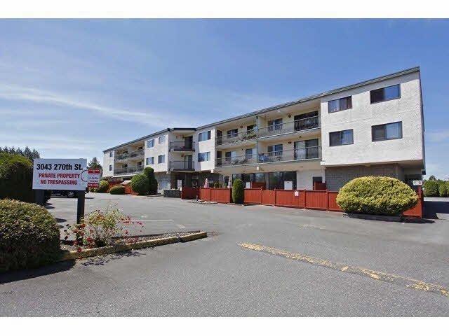 Main Photo: 204 3043 270TH STREET in Aldergrove Langley: Condo for sale : MLS®# F1431032
