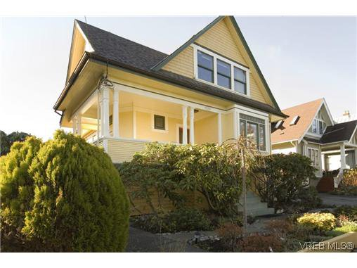 Main Photo: 1321 George St in VICTORIA: Vi Fairfield West House for sale (Victoria)  : MLS®# 599553