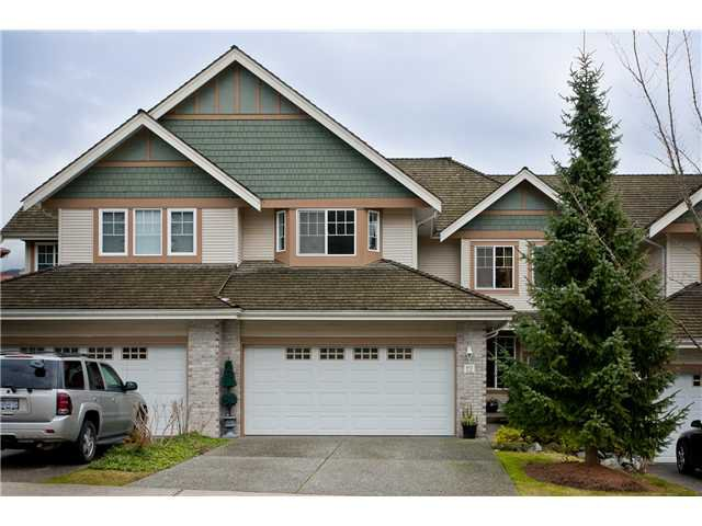 Main Photo: 12 1765 PADDOCK Drive in Coquitlam: Westwood Plateau Condo for sale : MLS®# V931772