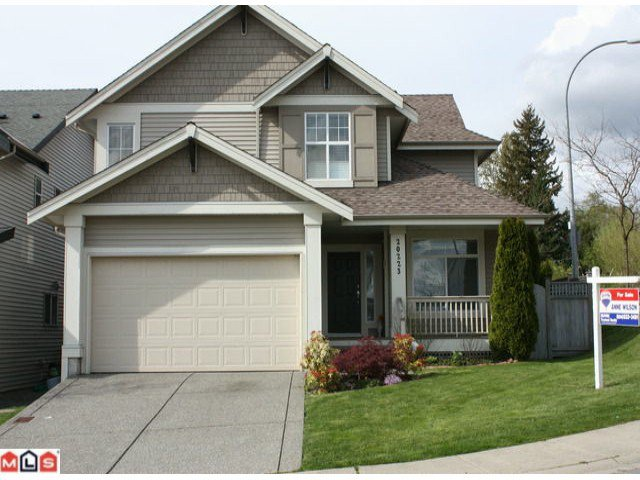 Main Photo: 20223 70A AV in Langley: Willoughby Heights House for sale : MLS®# F1211395