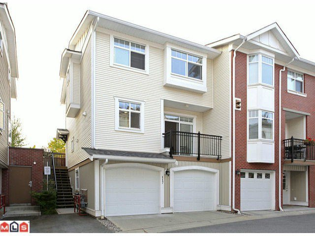 Main Photo: 117 19551 66 Avenue in : Clayton Townhouse for sale (Cloverdale)  : MLS®# F1225208