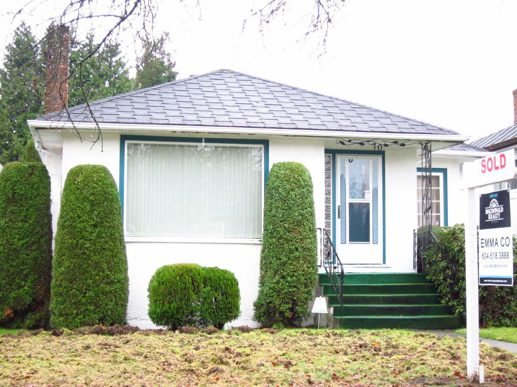 Main Photo: 70 W 48 in Vancouver: Oakridge VW House for sale (Vancouver West)  : MLS®#  V1095886