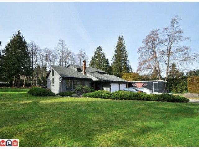 Main Photo: 2447 134TH Street in Surrey: Elgin Chantrell House for sale (South Surrey White Rock)  : MLS®# F1228978