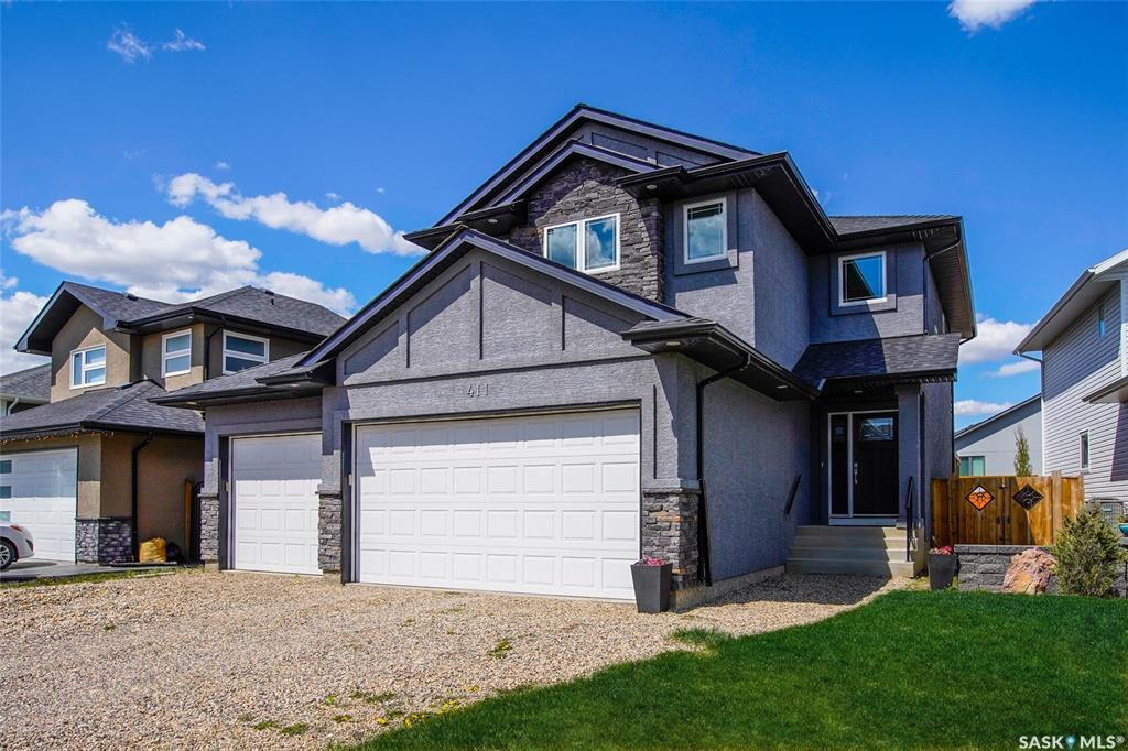 Main Photo: 411 Hastings Crescent in Saskatoon: Rosewood Residential for sale : MLS®# SK819177