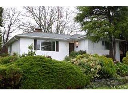 Main Photo:  in VICTORIA: SE Cedar Hill House for sale (Saanich East)  : MLS®# 352884