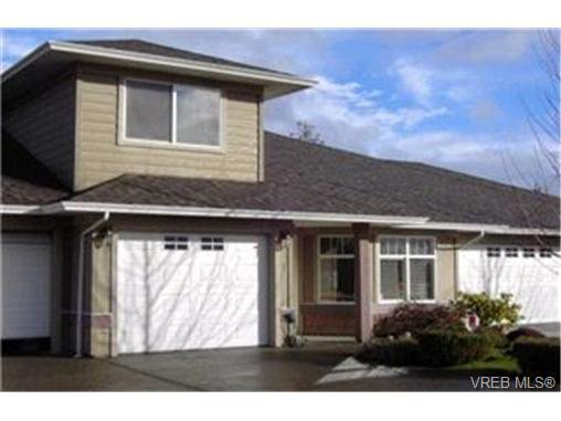 Main Photo:  in VICTORIA: VR Glentana Row/Townhouse for sale (View Royal)  : MLS®# 385472