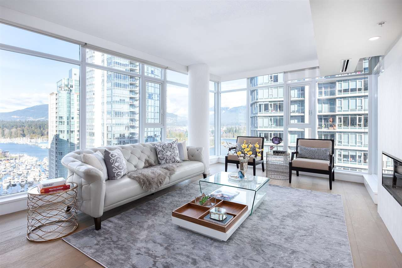 Main Photo: 2002 1205 W HASTINGS STREET in Vancouver: Coal Harbour Condo for sale (Vancouver West)  : MLS®# R2415723