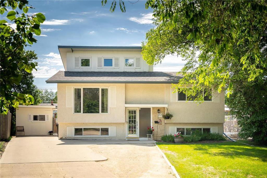 Main Photo: 77 Inwood Crescent in Winnipeg: Crestview Residential for sale (5H)  : MLS®# 202010813