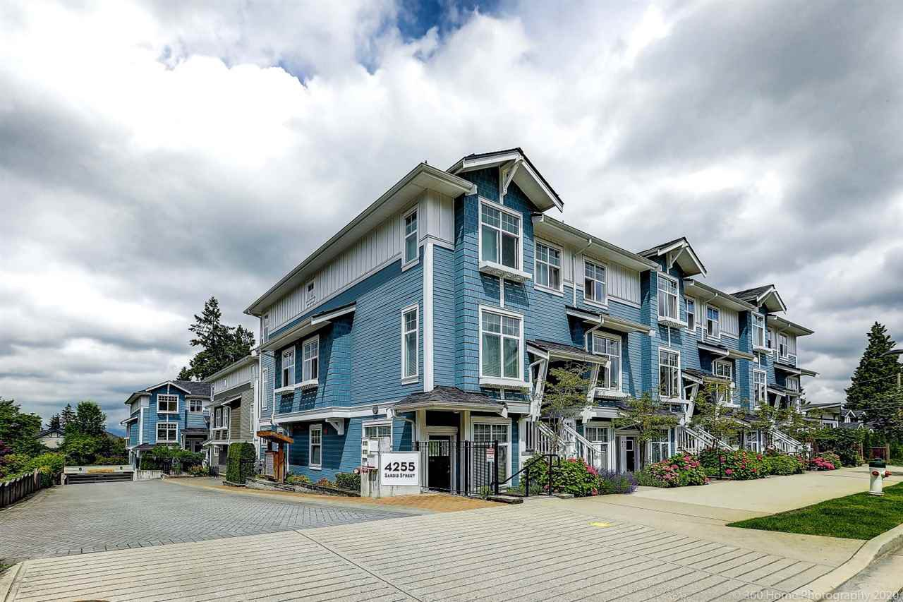 "Main Photo: 111 4255 SARDIS Street in Burnaby: Central Park BS Townhouse for sale in ""PADDINGTON MEWS"" (Burnaby South)  : MLS®# R2469014"