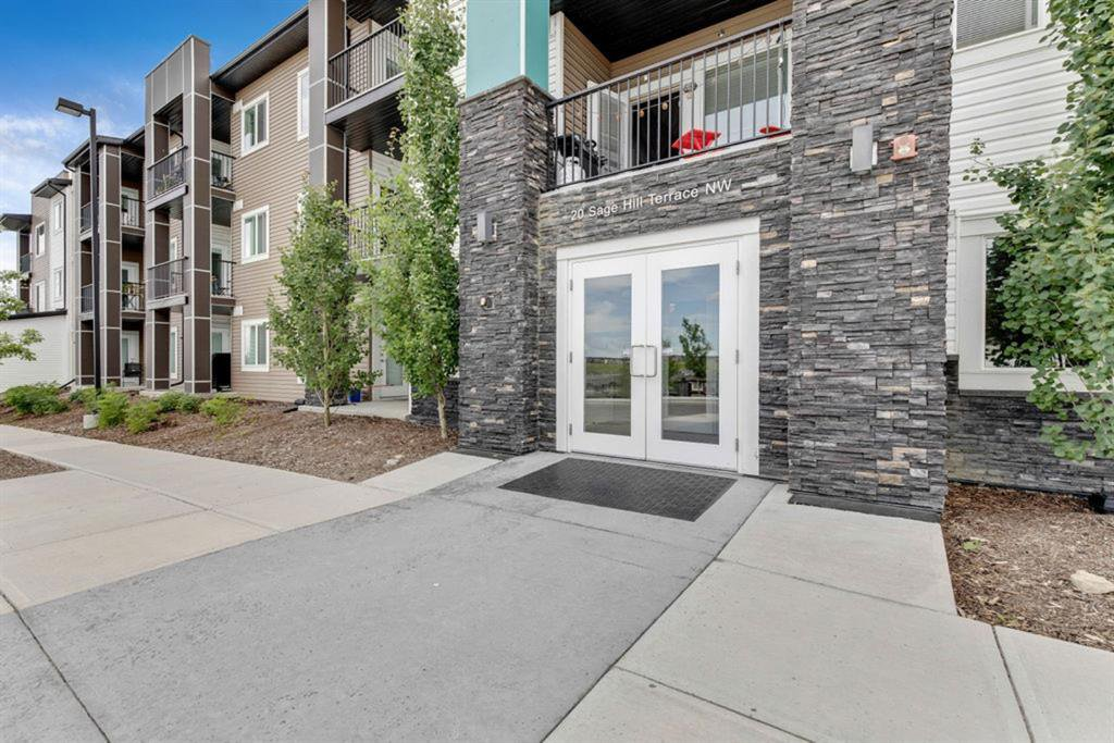 Photo 2: Photos: 306 20 SAGE HILL Terrace NW in Calgary: Sage Hill Apartment for sale : MLS®# A1014076
