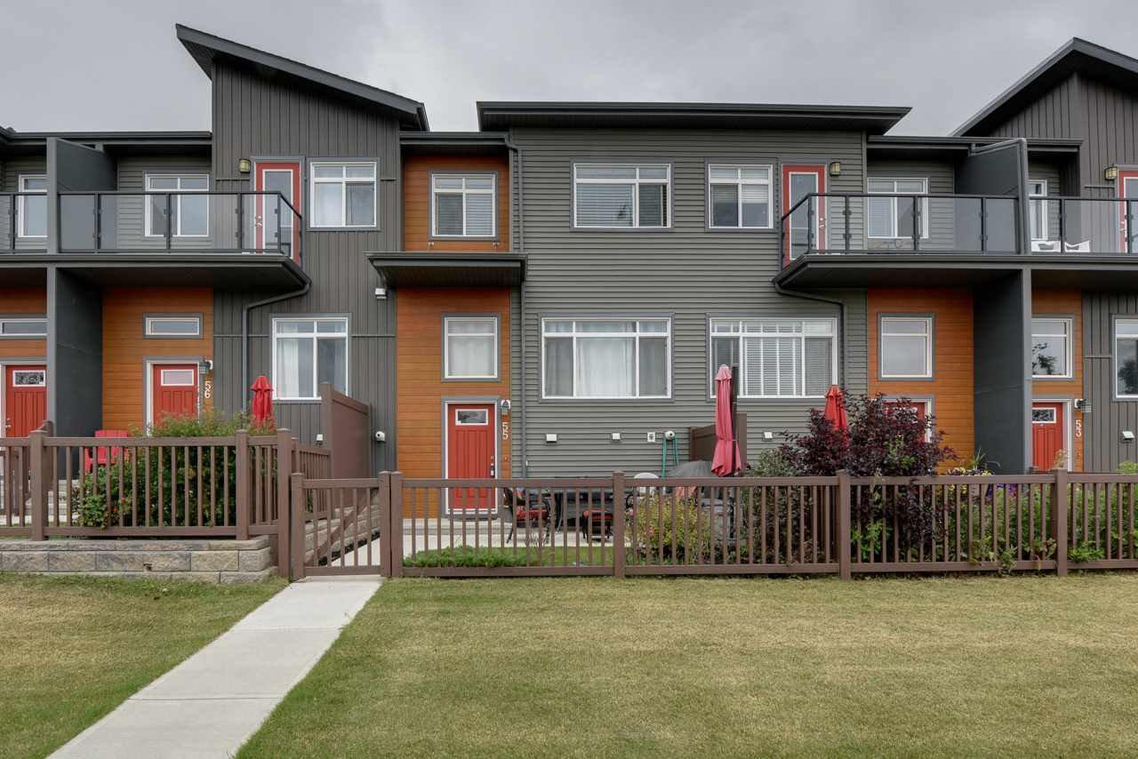Main Photo: 55 7503 GETTY Gate in Edmonton: Zone 58 Townhouse for sale : MLS®# E4214256