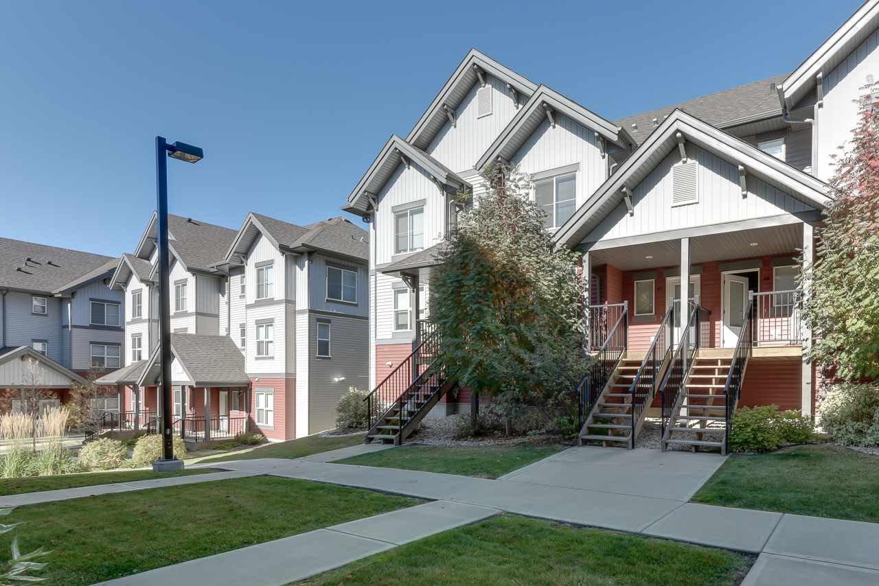 Main Photo: 47 655 WATT Boulevard in Edmonton: Zone 53 Townhouse for sale : MLS®# E4216741
