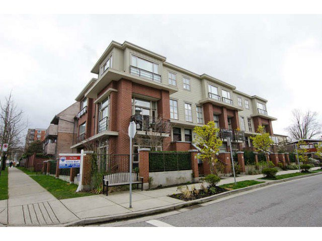 Main Photo: 218 East 12th Street in Vancouver: Mount Pleasant VE Townhouse for sale (Vancouver East)  : MLS®# V1054641